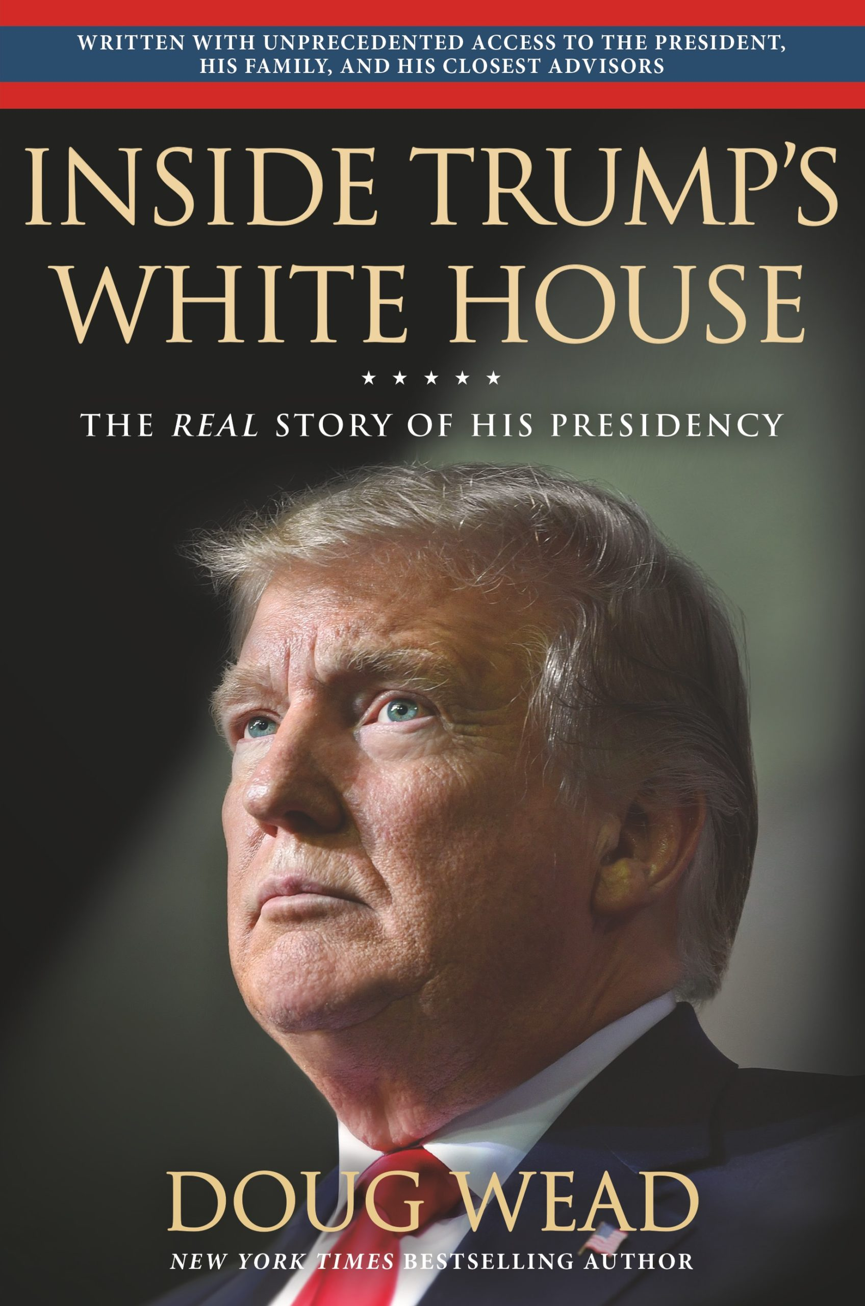 Jpeg of the cover of Inside Trump's White House.